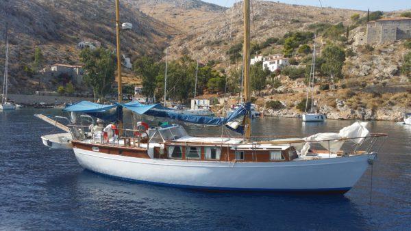 Яхта  КЕЧ (построена в единственном экземпляре) — Продажа яхты